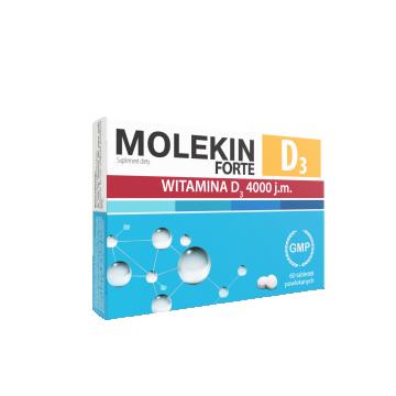 Molekin Forte D3 4000 j.m. 60 tabletek