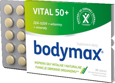 Bodymax 50+ 30 tabletek