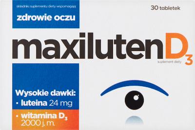 Maxiluten D3  30 tabletek