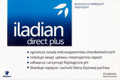 Iladian direct plus, 10 tabletek