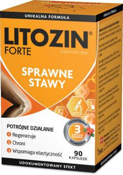 Litozin Forte 90 kapsułek