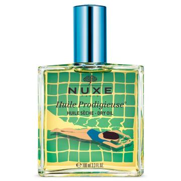 Nuxe Huile Prodigieuse  - wielofunkcyjny suchy olejek do twarzy, ciała i włosów 100 ml NIEBIESKI edycja limitowana