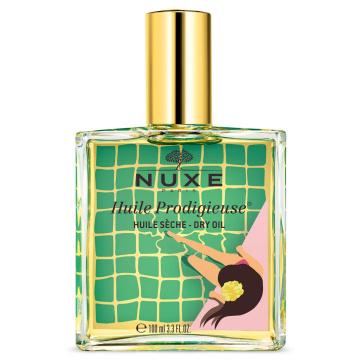 Nuxe Huile Prodigieuse - wielofunkcyjny suchy olejek do twarzy, ciała i włosów 100 ml ZŁOTY  edycja limitowana