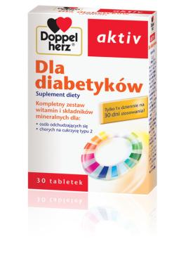DOPPELHERZ AKTIV Dla diabetyków, 30 tabletek