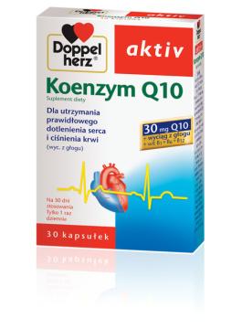DOPPELHERZ AKTIV Koenzym Q10 30 mg, 30 kapsułek
