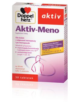 DOPPELHERZ AKTIV Meno, 30 tabletek