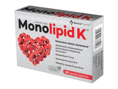MONOLIPID K 30 kapsułek