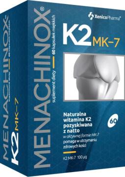 MENACHINOX WITAMINA K2 MK-7 100 mcg  60 kapsułek