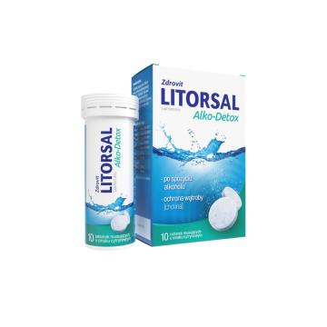 ZDROVIT Litorsal Alko-Detox (smak cytrynowy) 10 tabletek musujących