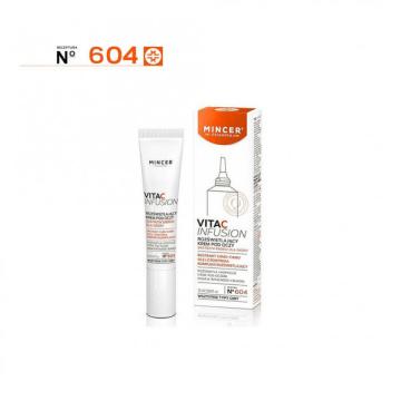 Mincer Pharma Vita C Infusion - rozświetlający krem pod oczy 15 ml