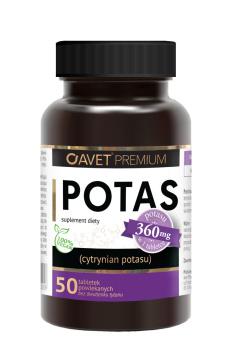 Avet Premium Potas 50 tabletek