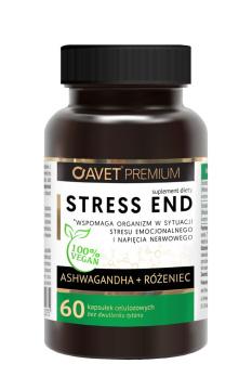 Avet Premium Stress End Ashwagadha + Różeniec 60 kapsułek