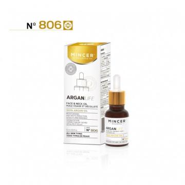 Mincer Pharma ArganLife N°806  50+ Olejek arganowy 100% do twarzy i szyi  15ml