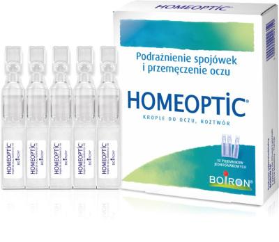 Homeoptic krople do oczu 10 pojemników