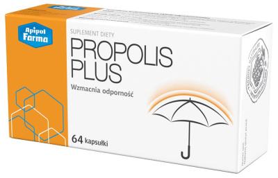 Propolis Plus  64 kapsułki