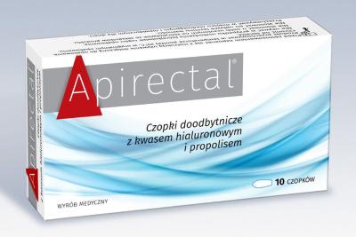 Apirectal  10 czopków