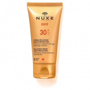 NUXE Sun SPF 30 Zachwycający krem do opalania twarzy i ciała, 50 ml