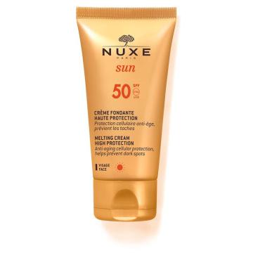 NUXE Sun SPF 50 Lekki krem do twarzy skóra normalna i mieszana, 50 ml