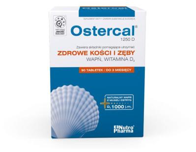 Ostercal 1250 D 90 tabletek