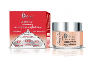 Ava Asta C+ krem do twarzy Intensywne wygładzenie 50 ml