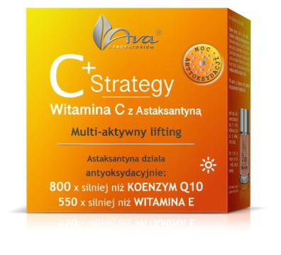AVA C+ Strategy  multiaktywny lifting krem na dzień 50 ml