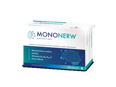 Mononerw 30 kapsułek twardych