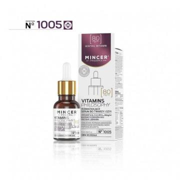 Mincer Pharma Vitamins Philosophy Serum wzmacniające do twarzy i szyi nr 1005  15ml