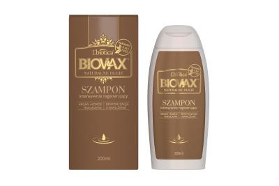 BIOVAX Argan Kokos Makadamia - intensywnie regenerujący szampon 200 ml