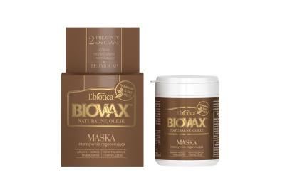 BIOVAX Argan Kokos Makadamia-  intensywnie regenerująca maseczka 250 ml