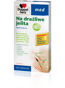 Doppelherz med IBS na drażliwe jelita  30 tabletek