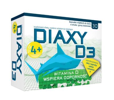 Diaxy D3   30 kapsułek do żucia