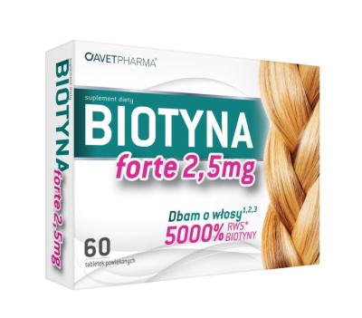 Biotyna Forte 2,5 mg  30 tabletek
