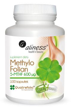 Aliness Methylo Folian 5-MTHF 600 μg, 100 kapsułek