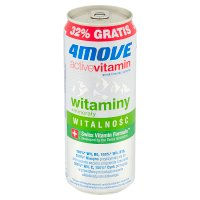4 Move Active Vitamin Witaminy + Minerały 330ml