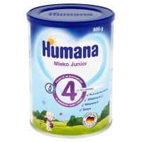 Humana Junior 4 mleko modyfikowane (po 24. miesiącu) 800 g