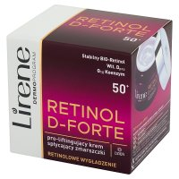LIRENE RETINOL D-FORTE Krem na zmarszczki 50+
