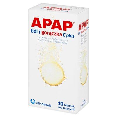 Apap Przeziębienie Fast, 10 tabletek