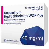 Dopaminum hydrochl. WZF 4% rozt.doinfuzji