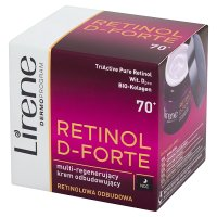 LIRENE RETINOL D-FORTE 70+ 50 ml ODBUDOWA TWARZY