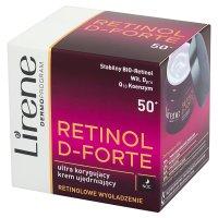 LIRENE RETINOL D-FORTE 50+ Krem korygujący ujędrniający 50 ml